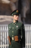 Chinese policeman Royalty Free Stock Images