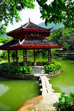 Chinese pond Royalty Free Stock Photography