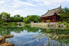 Chinese pond Stock Image