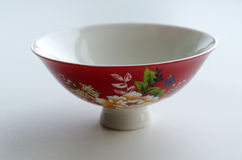 Chinese porcelain bowl for the tea ceremony Stock Image