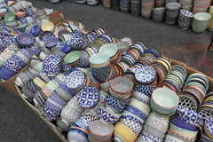 Chinese porcelain bowls Stock Image