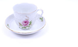 Chinese porcelain cup. Image of cup with beautiful Chinese painting on it stock images