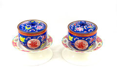 Chinese porcelain Stock Images