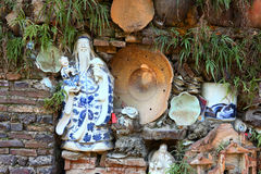 Chinese porcelain Royalty Free Stock Images