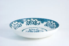 Chinese porcelain plate Stock Photos