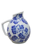 Chinese porcelain pot Royalty Free Stock Photos