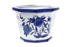 Chinese Porcelain pot Stock Images