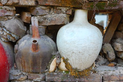 Chinese porcelain pot Stock Photography