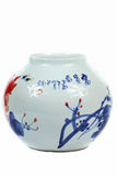 Chinese porcelain vase Stock Photos