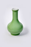 Chinese porcelain vase. On white background royalty free stock photos