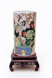 Chinese porcelain vase Royalty Free Stock Photography