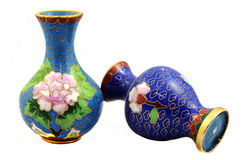 Chinese porcelain vases Royalty Free Stock Photography