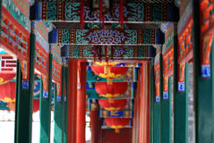 Chinese porch stock images
