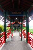Chinese Porch. The classical chinese porch in a park royalty free stock images