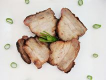 Chinese Pork Belly. Roasted pork belly with chinese flavors Stock Photography