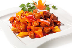 Chinese Pork stock photography