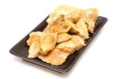 Chinese pork dumplings Royalty Free Stock Image