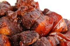 Chinese pork meat stew Stock Image