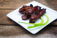 Chinese pork ribs Royalty Free Stock Photography