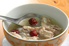 Chinese pork soup Stock Photos