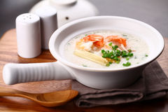 Chinese porridge Stock Image