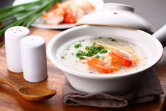 Chinese porridge Stock Images