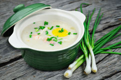 Chinese porridge Royalty Free Stock Photo