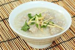 Chinese porridge rice Stock Images