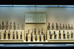 Chinese pottery figurine Stock Photos