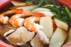 Chinese Prawn Noodles Royalty Free Stock Image