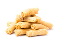 Chinese prawn spring roll Royalty Free Stock Images