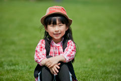 Chinese pretty girl Stock Photo