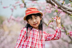 Chinese pretty girl. A chinese girl in the park,wuxi ,china Stock Image
