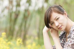 Chinese    girl Royalty Free Stock Photography