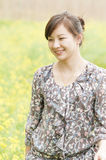 Chinese  happy  girl Royalty Free Stock Photo