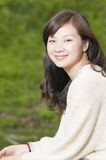 Chinese pretty girl Royalty Free Stock Photos