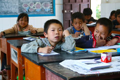 Free Chinese Primary School Students Royalty Free Stock Photo - 17925085