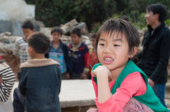 Chinese primary school students Royalty Free Stock Image