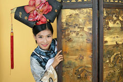 Chinese prinses stock foto