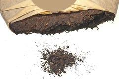 Chinese Pu-Erh tea. Closeup of chinese Pu-Erh tea Stock Images