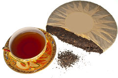 Chinese Pu-Erh tea Royalty Free Stock Photos