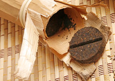 Chinese puer tea Royalty Free Stock Photography