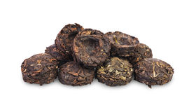 Chinese puer tea Stock Images