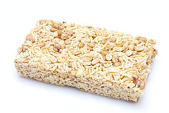 Chinese puffed rice cake stock image