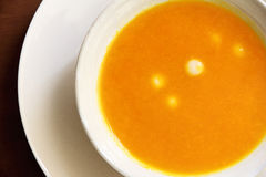 Chinese pumpkin soup Royalty Free Stock Image