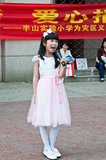 Chinese pupils to sing Royalty Free Stock Photo