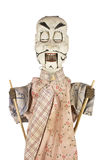Chinese Puppet. Antique traditional Chinese puppet from Shaanxi provence royalty free stock photography