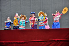 Chinese Puppet Show Royalty Free Stock Images