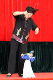 Chinese puppet string performer Royalty Free Stock Photos
