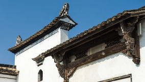 Chinese Qing Dynasty Architecture Royalty-vrije Stock Foto's